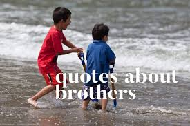 quotes and sayings about brothers