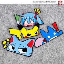 Usd 6 00 Tutu Japanese Anime Cartoon Car Side Window Decoration Reflective Paste First Sound Dragon Cat Fun Decal Wholesale From China Online Shopping Buy Asian Products Online From The