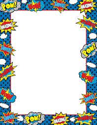 Superhero Computer Paper Fiesta De Cumpleanos Del Superheroe