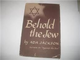 BEHOLD THE JEW by ADA JACKSON 1944 | eBay