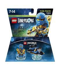 LEGO Dimensions Fun Packs | Lego ideeën, Lego ninjago, Lego city