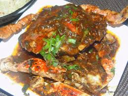 Butter Garlic Pepper Crabs