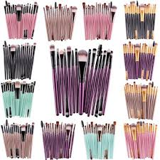 set of 15 makeup brushes bol