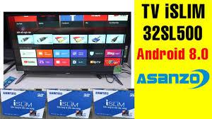 Smart TV Asanzo iSLIM 32 inch 32SL500 | Điện Máy Giang Nga - YouTube