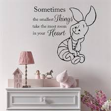 Wall Vinyl Decal Sticker Family Play Room Art Nursery Winnie The Pooh Quote