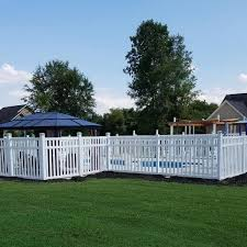 Weatherables Captiva 5 Ft H X 8 Ft W White Vinyl Pool Fence Panel Pwpo 3 5x8 The Home Depot