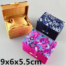 small rectangle fancy jewelry bo