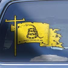 Crane Operator Gadsden Flag Decal Don T Tread On Me Etsy
