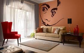Salvador Dali Wall Decal Sticker Surrealism Portrait Etsy