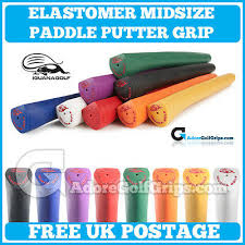 elastomer midsize paddle putter grips