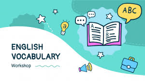 English Vocabulary Workshop Google Slides and PowerPoint template