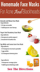 easy diy face mask for red acne marks