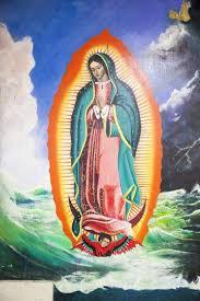 faithful honor the virgen de guadalupe