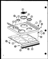 amana arr 405 range parts partswarehouse