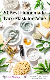 20 diy face mask for acne using natural