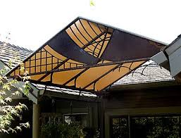 The Portfolio Shade Cloth Fence Design Trellis Fence
