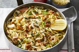 Linguine Seafood Marinara Recipe ...