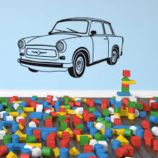 Euro Car Wall Decal Style And Apply