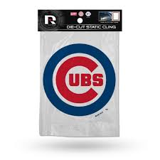 Chicago Cubs Official Mlb 5 Inch Car Window Cling Decal By Rico Industries Walmart Com Walmart Com