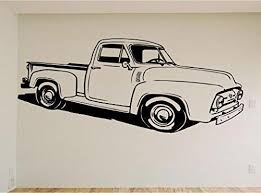 Chevy Truck Car Auto Wall Decal Stickers Murals Boys Room Man Cave