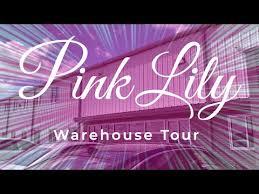 pink lily boutique warehouse tour