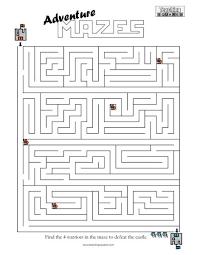 adventure maze castle 1