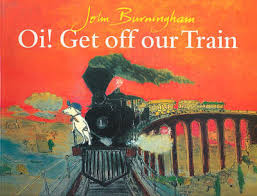 Oi! Get Off Our Train - book, teaching resources, story, card, mat - book