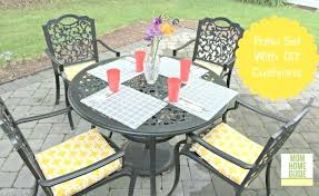 outdoor chair cushion covers how to