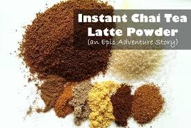 instant chai tea latte powder an epic