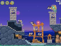 Angry Birds Rio Rocket Rumble Walkthrough Level #4