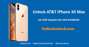 how to unlock at t iphone xs max easily