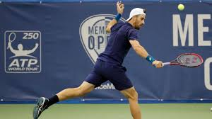 Tennis - So long to the burgers and fries for fit Steve Johnson