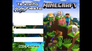 Ideas Fiesta Minecraft Youtube