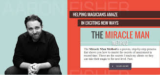 Aaron Fisher Magic - Online Training for Magicians