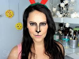 cute reindeer makeup tutorial silvia