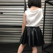1212yes bn kids leather skirt babies
