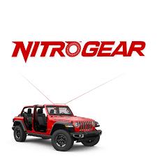 Nitro Gear Vinyl Die Cut 12 Decal
