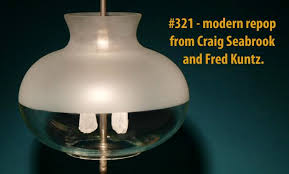Steve's Glass lamp shade collection - revived - with a bit more intro -  Coleman Collectors Forum