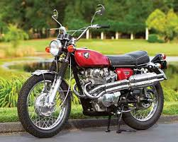 red to ride the 1968 honda cl450