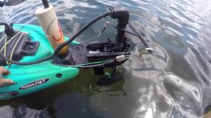 kayak trolling motor build you