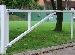 Warden Swing Barrier Manual Parking Control Jacksons Security Jacksons Security Fencing