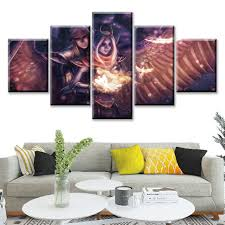 Avengers Infinity War Painting Hd Canvas Print Home Decor Wall Art Picture 5pc
