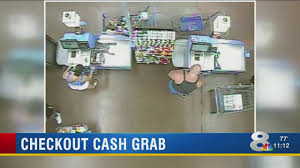 police look for self checkout thieves