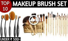 10 best makeup brush sets brands