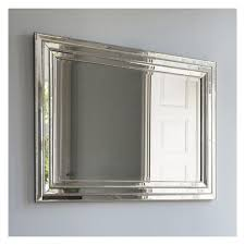 glass framed venetian wall mirror 112 x
