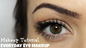everyday eye makeup 5 steps makeup