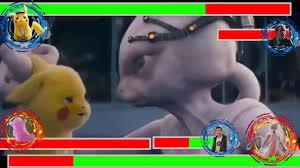 2019 Pokemon Movie Final Battle Ending Scene With Healthbars HD ...
