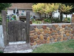 Part 2 Of 2 Converting My Chain Link Fence To A Stone Wall Youtube