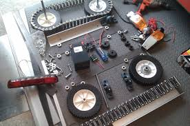rubber tank tracks for robots mobile