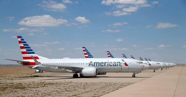 """Resultado de imagen para American Airlines Boeing 737 MAX grounded"""""""